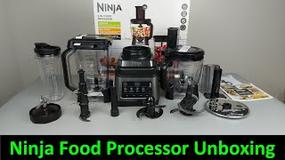Ninja 3-in-1 Food Processor with Auto-IQ Unboxing