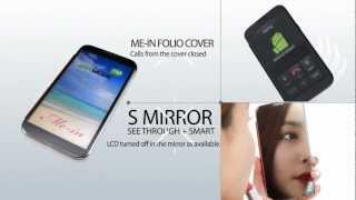 ANYMODE Me-in Folio Cover for Samsung Galaxy Note 2