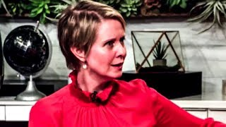 Cynthia Nixon Calls Out Andrew Cuomo For Sleazy Smear Campaign