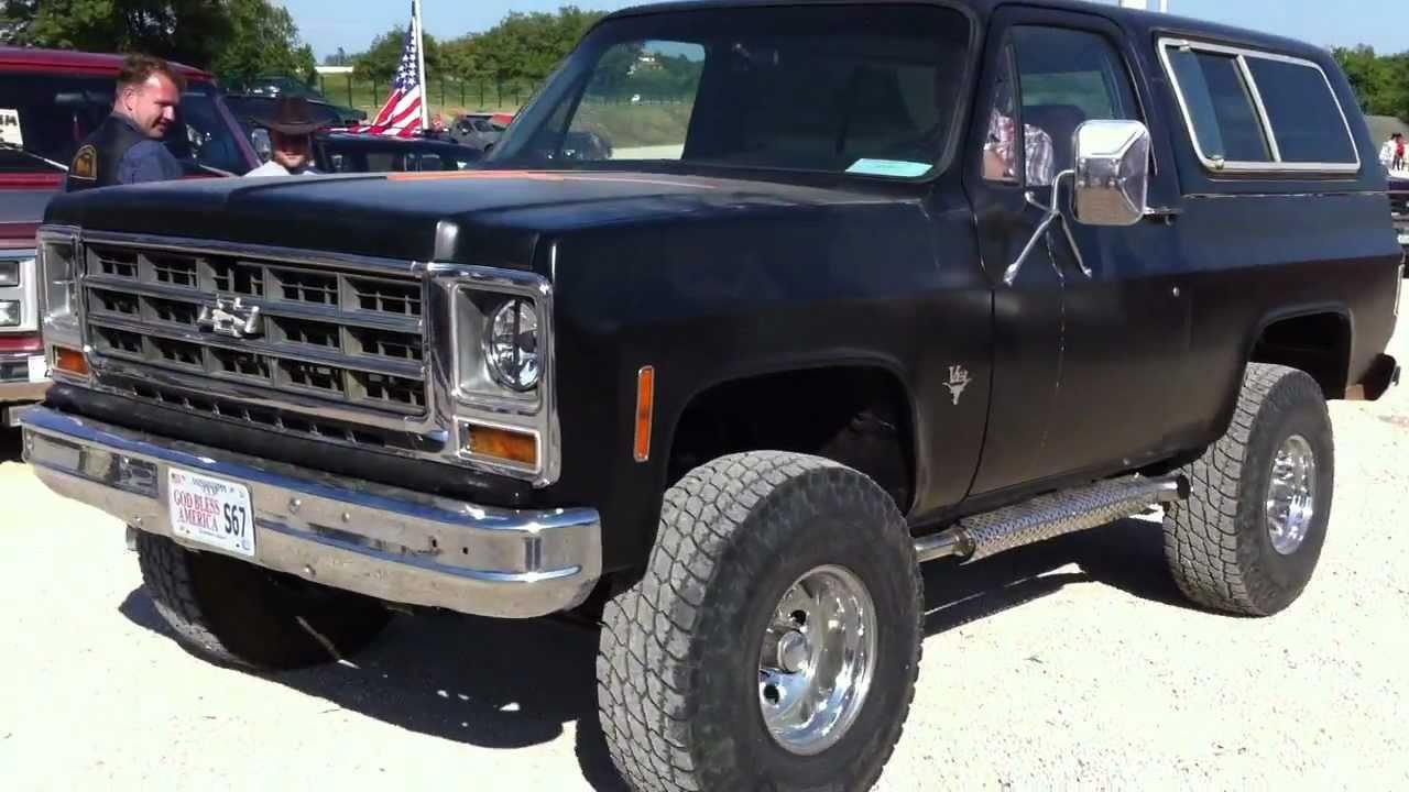 Chevy Blazer 4x4 >> '79 Chevrolet Blazer V8 Sound - YouTube