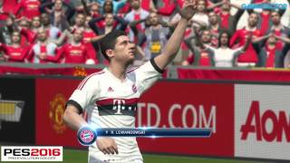 PES 2016 vs FIFA 16 - Final Game Graphics & Gameplay Comparison