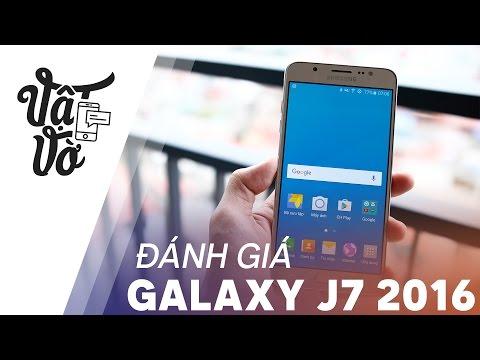 Vật Vờ| Đánh giá Samsung Galaxy J7 2016 xách tay 3GB RAM