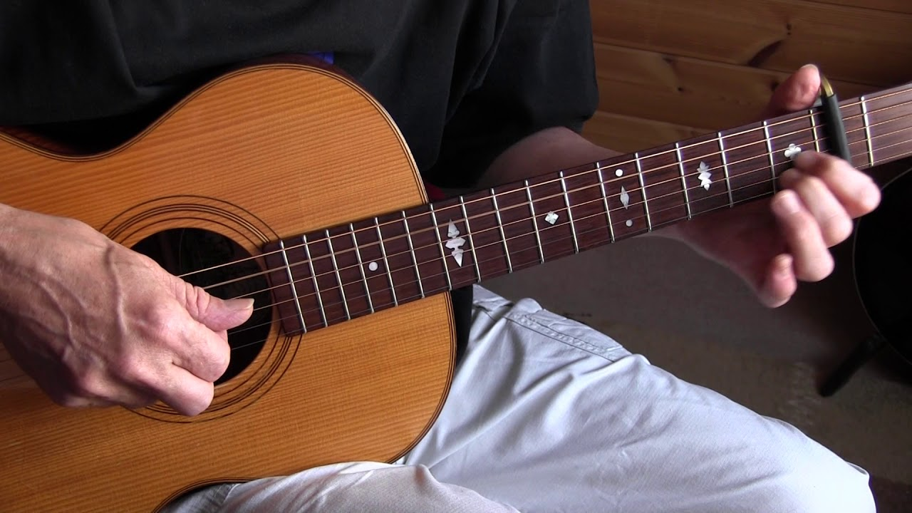 Fingerstyle Jazz/Blues Lesson
