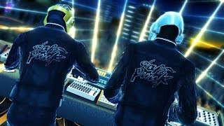 DJ HERO DAFT PUNK MEGAMIX 1,2
