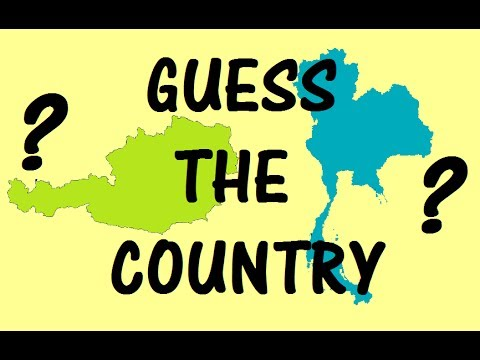 [PART 1] Hardest Quiz on Country Shapes! Match the Country with its Land Area Shape | Geography Test
