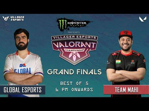 Team MAHI vs Global Esports | GRAND FINALS (BO5) ~ Villager Esports VALORANT Championship