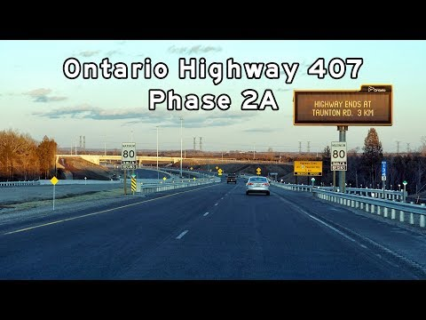 2018/02/26 - Ontario Highway 407 - Phase 2A