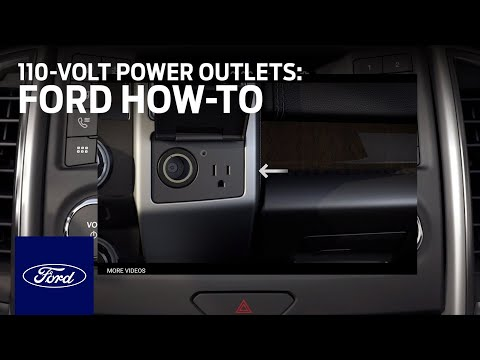 How to Use the F-Series 110-Volt Power Outlets | Ford How ...