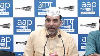 AAP Press Conference on Rafale Scam.