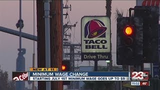Minimum Wage Change