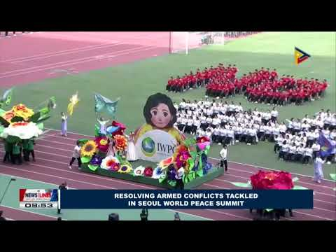 GLOBAL NEWS: Resolving armed conflicts tackled in Seoul World Peace Summit