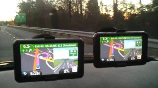 "Garmin 50LM vs 40LM GPS Screen Size 5"" vs 4.3"""