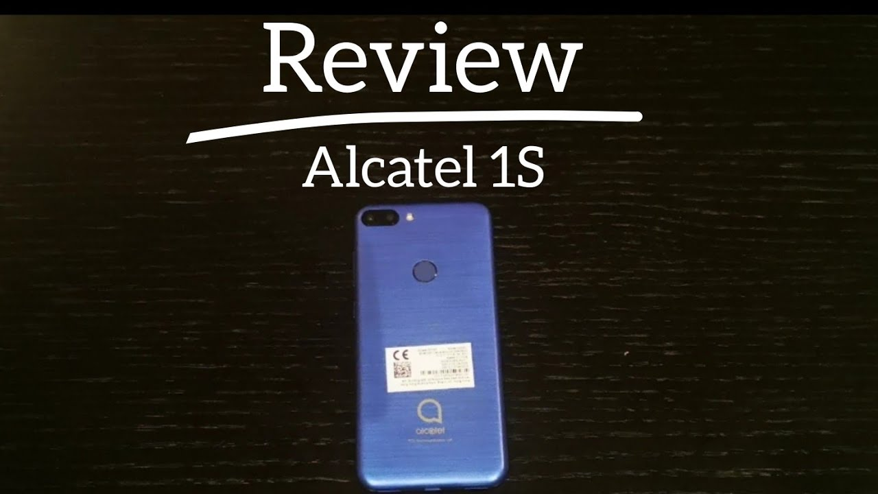 New phone from TCL Alcatel S1