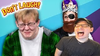 Try Not To Laugh Challenge #40 w/ CallMeCarson | Dan Ex Machina Reacts