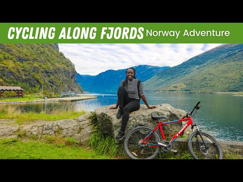 EP #80 | CYCLING ALONG THE FJORDS of NORWAY 🇳🇴  Flåm To Aurland // Travel Vlog