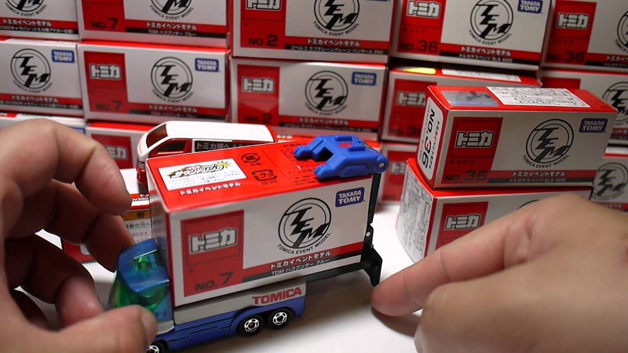 豪宅玩具~104~Takara Tomy2016多美火車節TOMICA 多美小汽車 火柴盒小汽車賓士X 250 工程車 吊車日產 NV350SLS AMGTDM貨車 ...