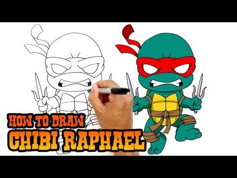 How to Draw Raphael | Teenage Mutant Ninja Turtles