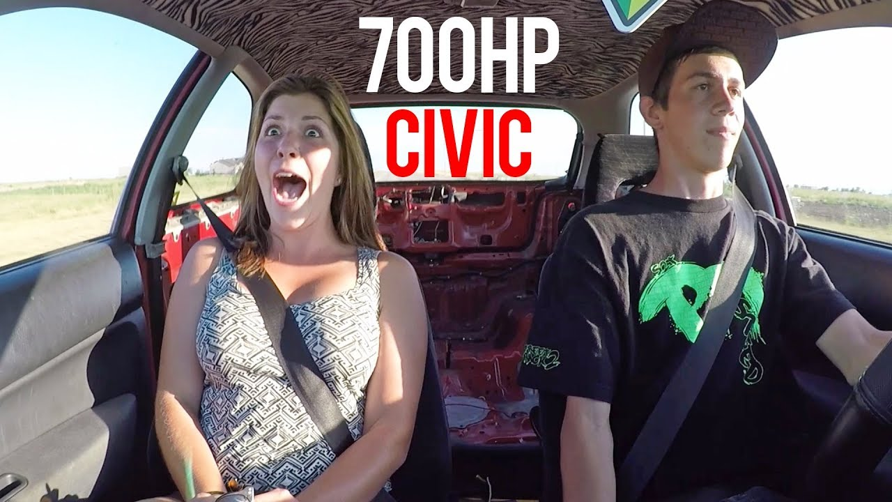 REACTION TO 700HP TURBO CIVIC