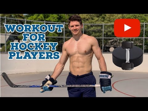 Full Workout for Hockey Players with a Division 1 Athlete
