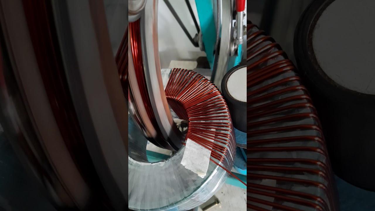toroidal winding machine part 3 || winding toroidal 1000watts