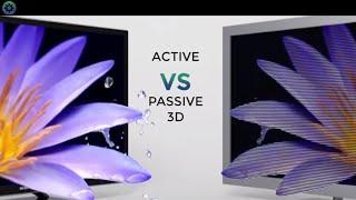 Active Vs Passive 3D