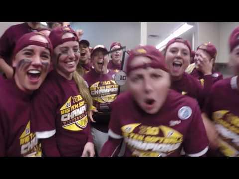 Gopher Softball Celebrates 2017 Big Ten Title!