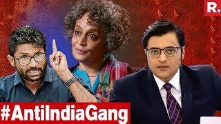 Baixar Arundhati Roy-Jignesh Mevani Plot To Divide India EXPOSED | The Debate With Arnab Goswami