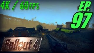 Fallout 4 Walkthrough in 4K Ultra HD / 60fps, Part 97: The Road to Nahant Wharf (Let