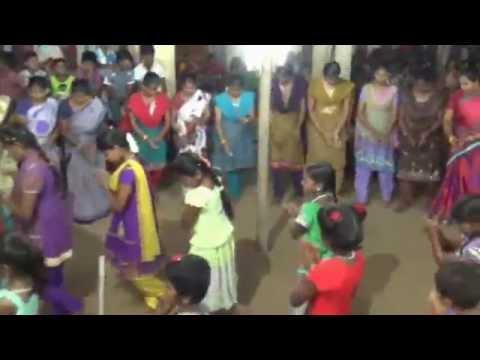 Fock Dance Kummi in Village.