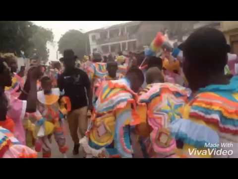 Oil City Masquerade (sekondi) Atwim 2016