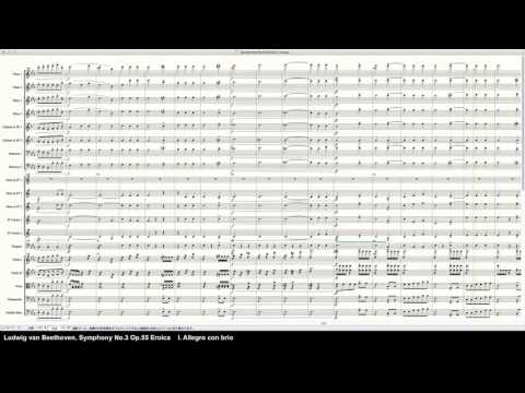 Beethoven Symphony No.3 Op.55 Eroica - Programed in Finale 2014 by pkmtKuma