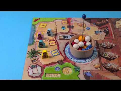 HABA USA -  Pharaoh's Gulo Gulo Game Demo