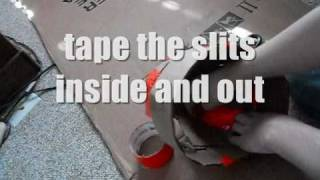 How To Make A Halo Helmet Out Of Cardboard Without Pepakura (p.1)