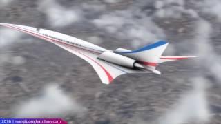 Máy bay siêu thanh và hình nón Maxa
