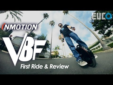 InMotion V8F First Ride & Review: V8 Gets An Upgrade In 2019