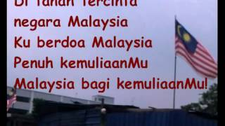 Malaysia bagi kemuliaanMu (dengan lirik)