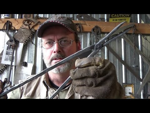 Blacksmithing - Another Go At Forging Tongs Each Time Getting Better