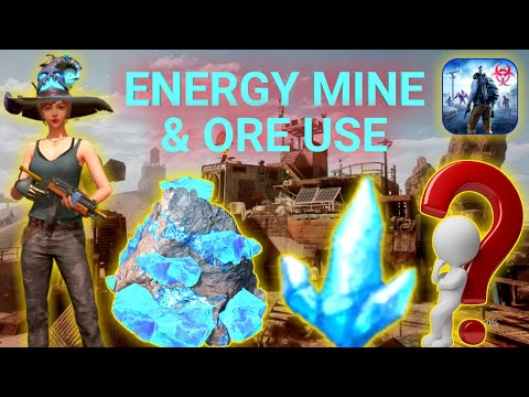 energy  mine & ore use //  new tips and tricks // last day rules survival // walking gamer