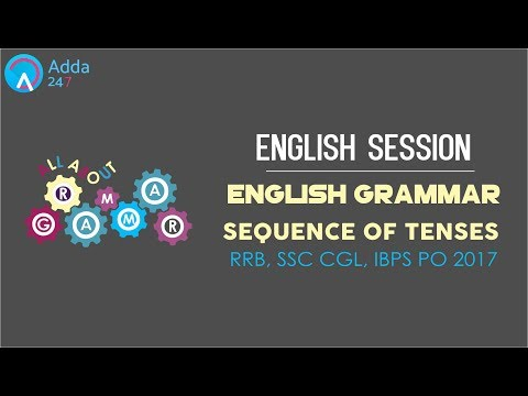 IBPS RRB PO | English Grammar | Sequence Of Tenses | Online Coaching for SBI IBPS Bank PO