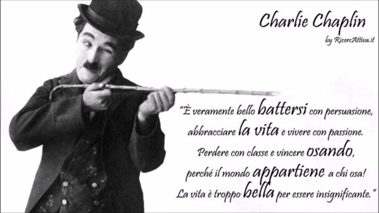 Charlie Chaplin Charlot Frasi Celebri Aforismi Foto