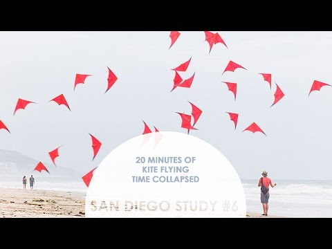20 Minutes of Kite Flying Time Collapsed: San Diego Study #6