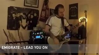 Emigrate Lead You On Guitar Cover #GuitarCover #Emigrate #Rammstein