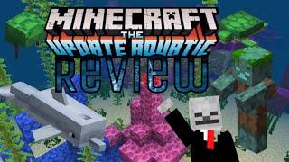 Minecraft Pe| Minecraft Aquatic Update Review