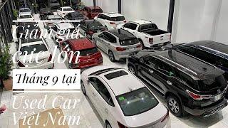 Bản Tin Báo Giá Các Mẫu Xe Ô tô Cũ Siêu Đẹp tại Used Car Việt Nam   P5 Tháng 9-2021