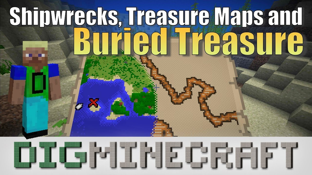 Shipwreck in Minecraft