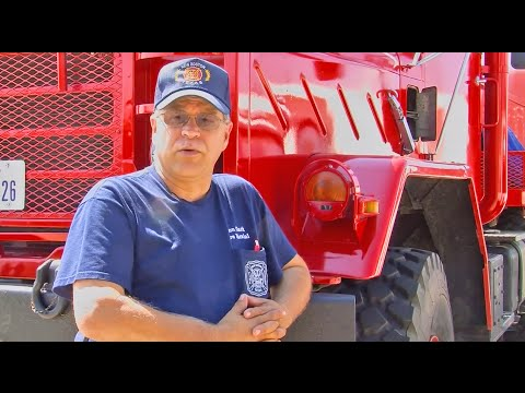 Volunteer Fire Dept Acquires Military Surplus Cargo Truck from GovLiquidation.com