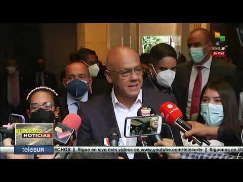 Diálogo oposición-chavismo en México: Jorge Rodríguez y Gerardo Blyde declaran este sábado