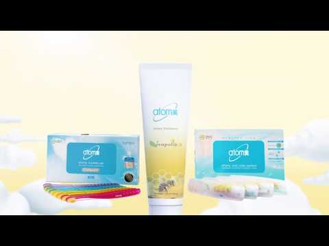 ATOMY Toothpaste with Propolis & Green Tea Extract