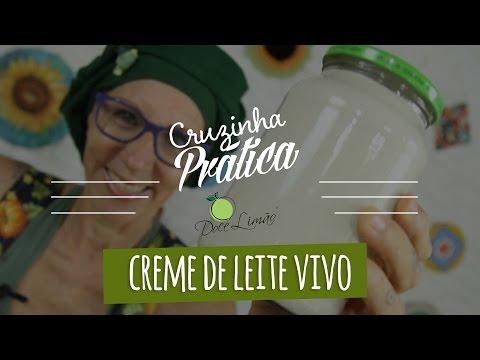 Creme De Leite Vivo - Cruzinha Prática Doce Limão