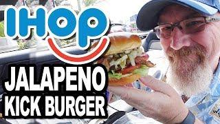 IHOB/IHOP (International House of Burgers) Jalapeño Kick Burger
